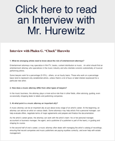 Interview with Mr. Hurewitz